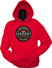 Germany Benchmark Hoodie Red