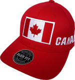 Canada Big Flag Hat