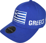 Greece Big Flag Hat
