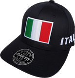 Italy Big Flag Hat