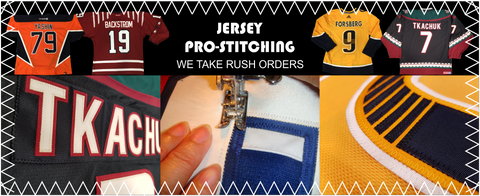 reputable site 62e04 50b95 Customized Pro Stitching Jersey Numbering done in Ottawa ...