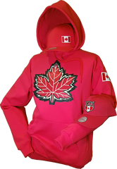 Canada Hoodie Mighty Maple Red