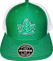 Canada Mighty Maple Green Cap