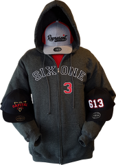 Six One 3 Zip Hoodies