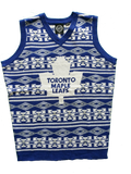 Toronto Maple Leafs Vest Ugly Sweater