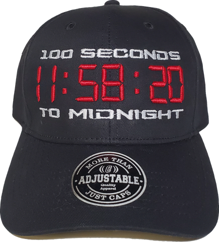 100 Seconds To Midnight Cap Adjustable