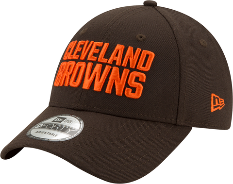 Cleveland Browns New Era 9Forty The League Adjustable