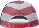 404 Cap Low Profile Trucker Stars And Stripes
