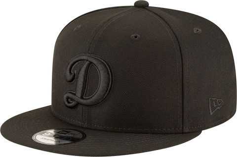 Los Angeles Dodgers D New Era 9Fifty Snapback Blackout