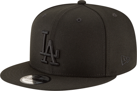 Los Angeles Dodgers New Era 9Fifty Snapback Blackout