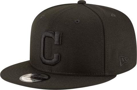 Cleveland Indians New Era 9Fifty Snapback Blackout