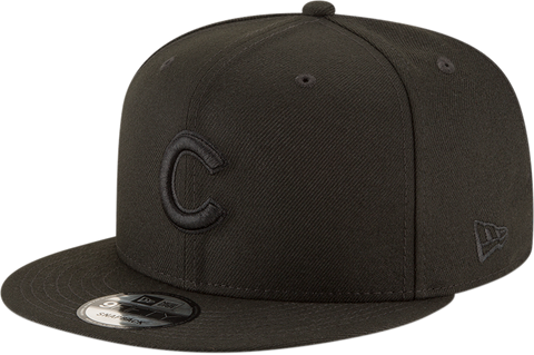Chicago Cubs New Era 9Fifty Snapback Blackout