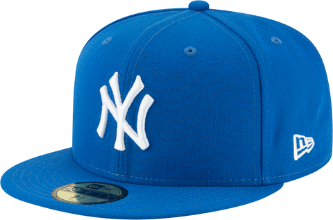New York Yankees New Era 59Fifty Fitted Azure Blue