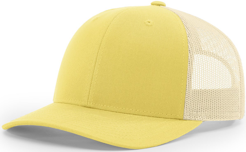 Blank Low Profile Trucker Banana Birch