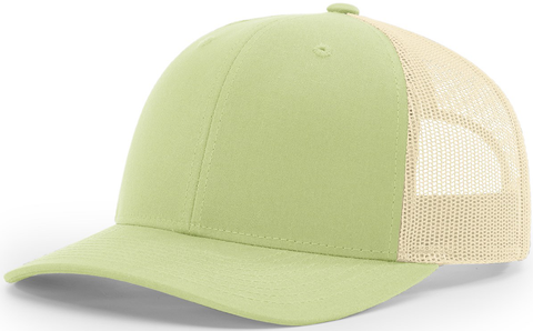 Blank Low Profile Trucker Patina Green Birch