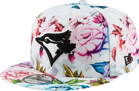 Toronto Blue Jays New Era 9Fifty Snapback White Floral