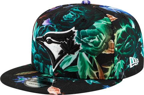 Toronto Blue Jays New Era 9Fifty Snapback Black Floral