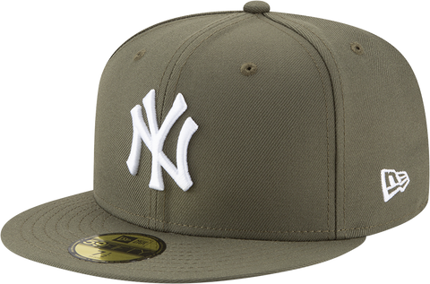 New York Yankees New Era 59Fifty Fitted New Olive