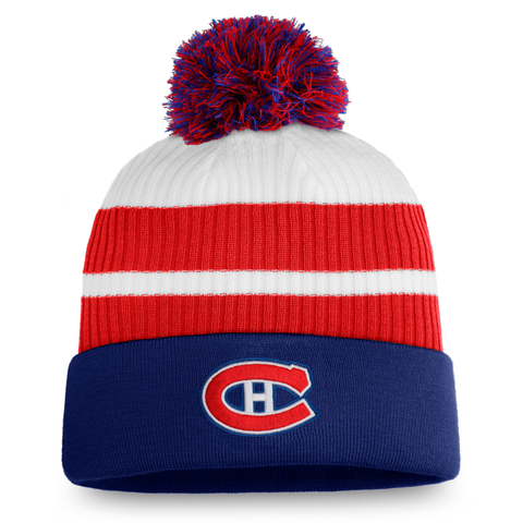 Montreal Canadiens 2021 Cuffed Knit Pom Toque