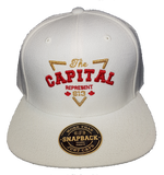 Six One 3 Represent The Capital Exclusive Snapback White
