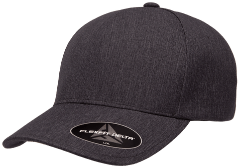 FLEXFIT DELTA® CAP CARBON CHARCOAL