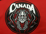 Canada Warrior Hoodie Red 17oz Cotton
