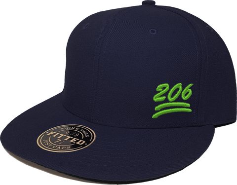 206 Keep It 100 Fitted Navy