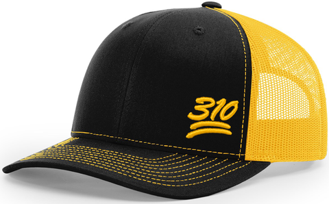 310 Keep It 100 Trucker Black Gold