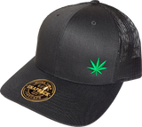Four Twenty FLS Mesh Back Trucker Black