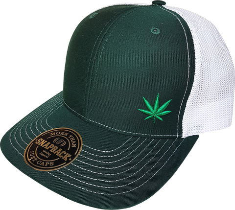 Four Twenty FLS Mesh Back Trucker Green White