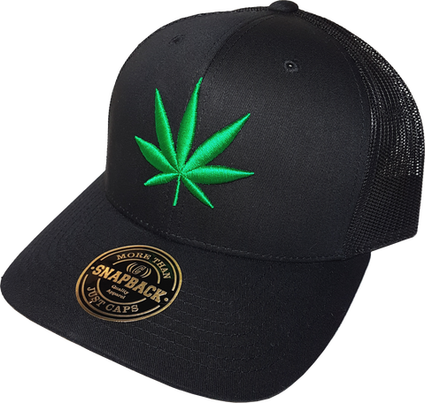 Four Twenty Mesh Back Trucker Black