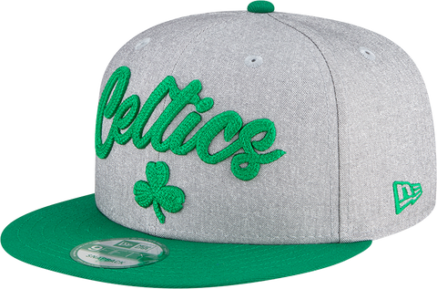 Boston Celtics NBA 9FIFTY Draft Snapback Heather Grey Green