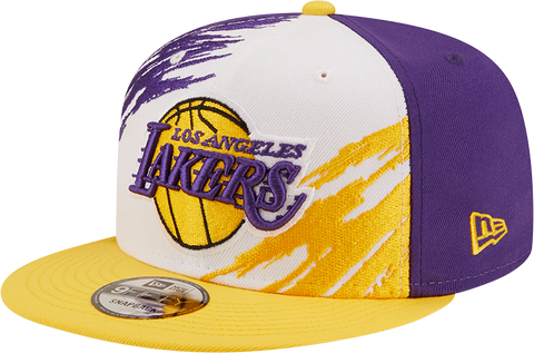 Los Angeles Lakers 9FIFTY Splatter Snapback