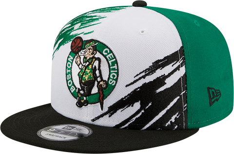Boston Celtics 9FIFTY Splatter Snapback