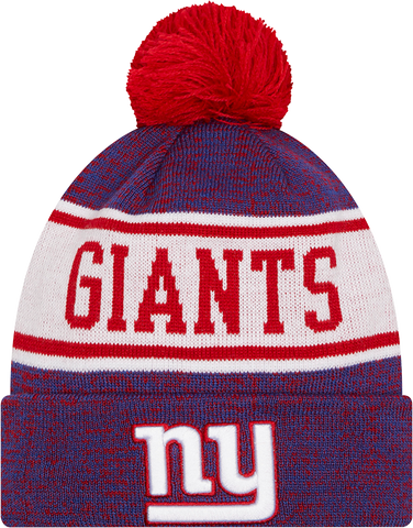 New York Giants Knit Banner Pom Toque