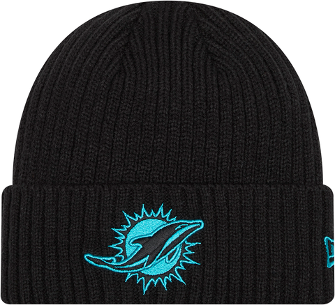 Miami Dolphins Core Classic Cuffed Knit Toque