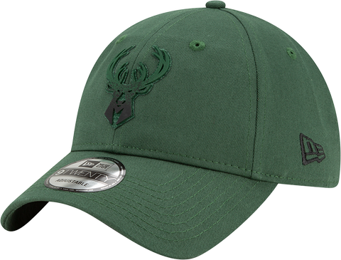 Milwaukee Bucks New Era 9Twenty Back Half Adjustable
