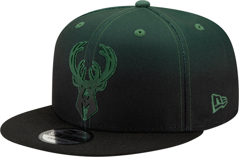Milwaukee Bucks New Era 9Fifty Back Half Snapback