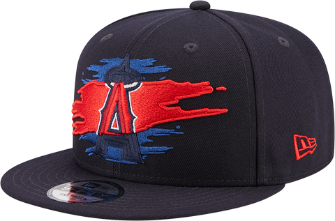 Anaheim Angels New Era 9Fifty Logo Tear Snapback