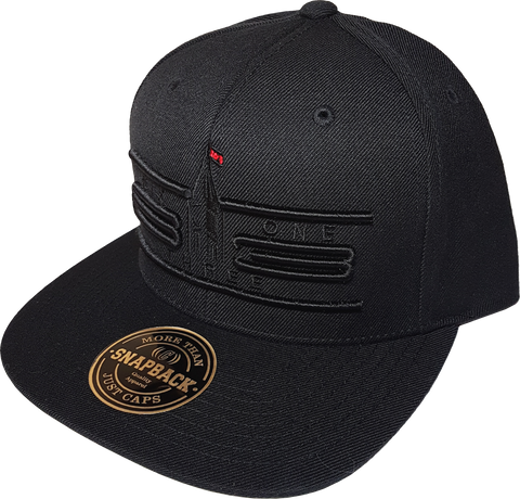 Six One 3 Cyber Snapback Cap Black