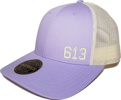 613 Low Profile Trucker Lilac Birch