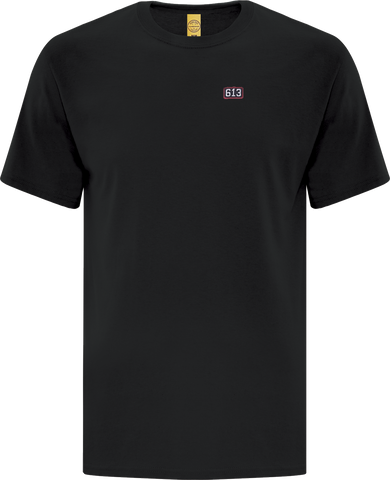 Six One 3 Pure Patch T-Shirt Black