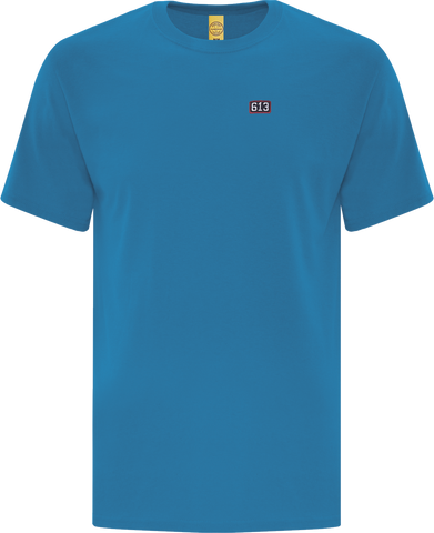 Six One 3 Pure Patch T-Shirt Bright Blue II