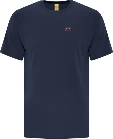 Six One 3 Pure Patch T-Shirt Navy Blue II