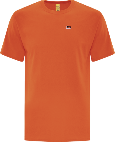Six One 3 Pure Patch T-Shirt Orange