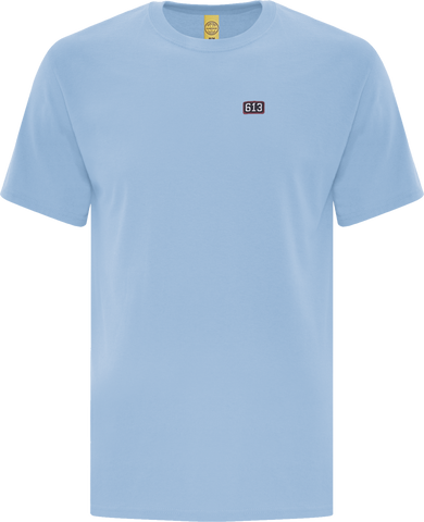 Six One 3 Pure Patch T-Shirt Powder Blue