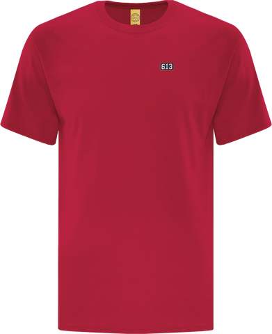 Six One 3 Pure Patch T-Shirt Red