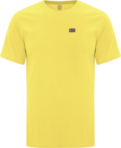 Six One 3 Pure Patch T-Shirt Yellow