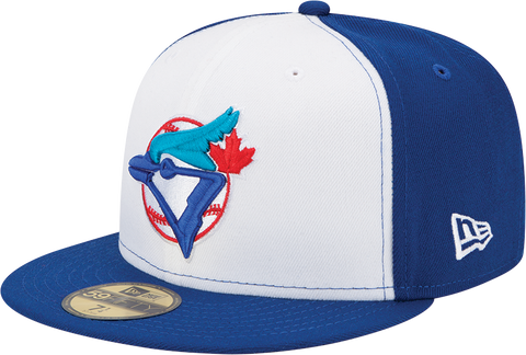 Toronto Blue Jays Cooperstown Authentic Fitted White Front