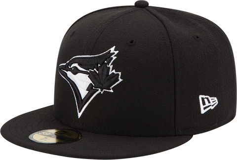 Toronto Blue Jays New Era 59Fifty Fitted Black White